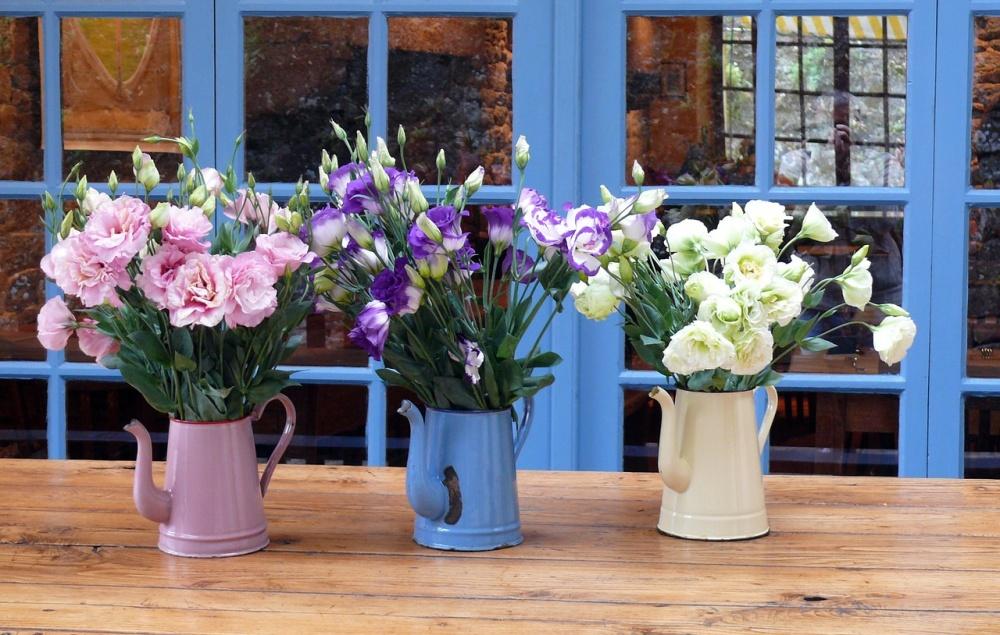 8 façons merveilleuses de décorer votre maison avec des fleurs 1