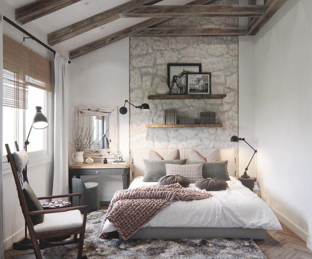 comment am nager son lit pour l 39 hiver blog deco tendency. Black Bedroom Furniture Sets. Home Design Ideas