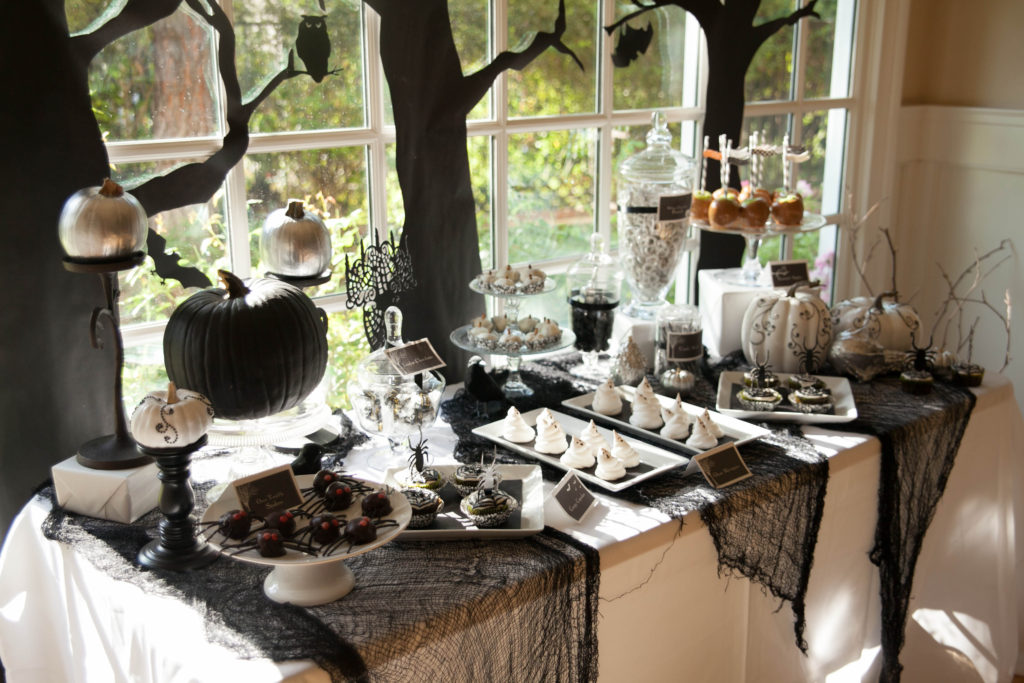 idées de décoration de table d'Halloween 4