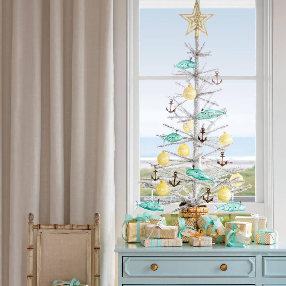 Décorations de sapins de Noëlcôtier