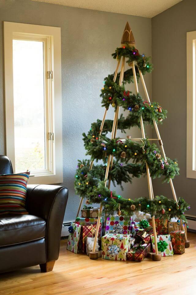 Décorations de sapins de Noël graphique
