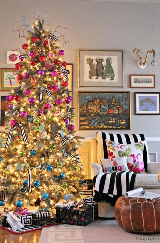 Décorations de sapins de Noëll'opulence