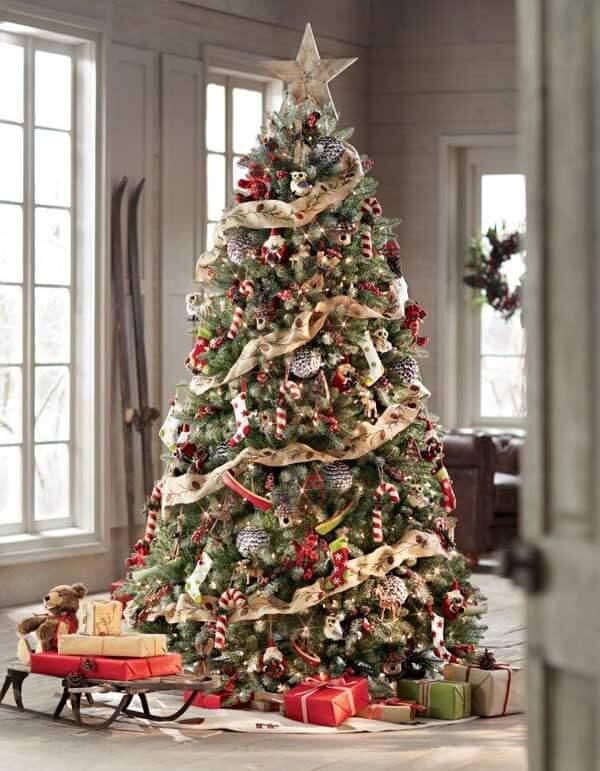 Décorations de sapins de Noëlornements vintage