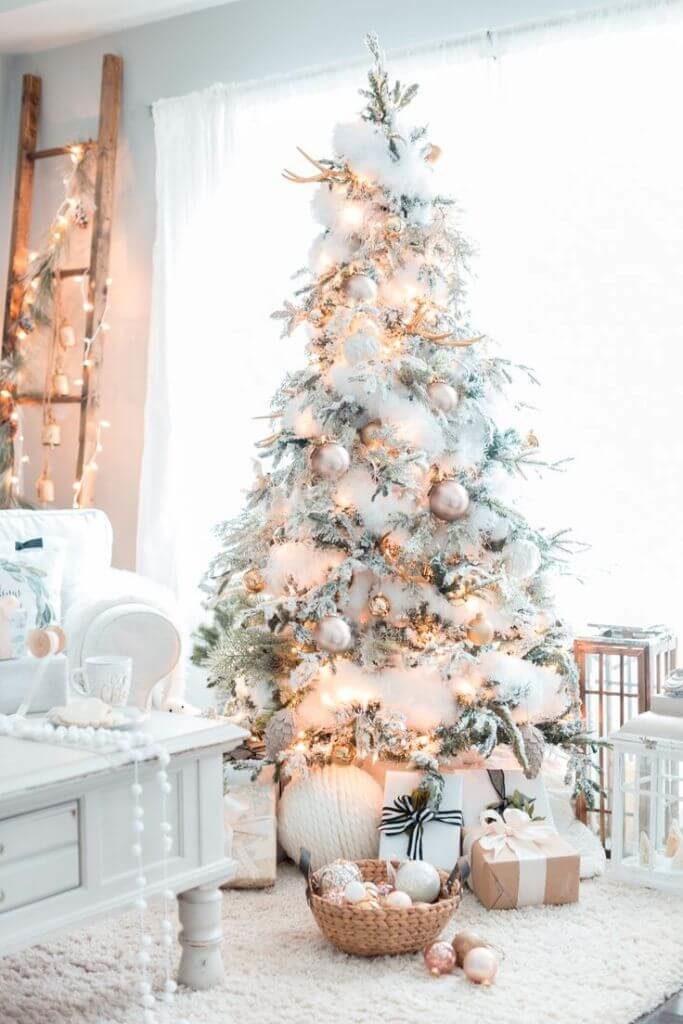 Décorations de sapins de Noëlpastel