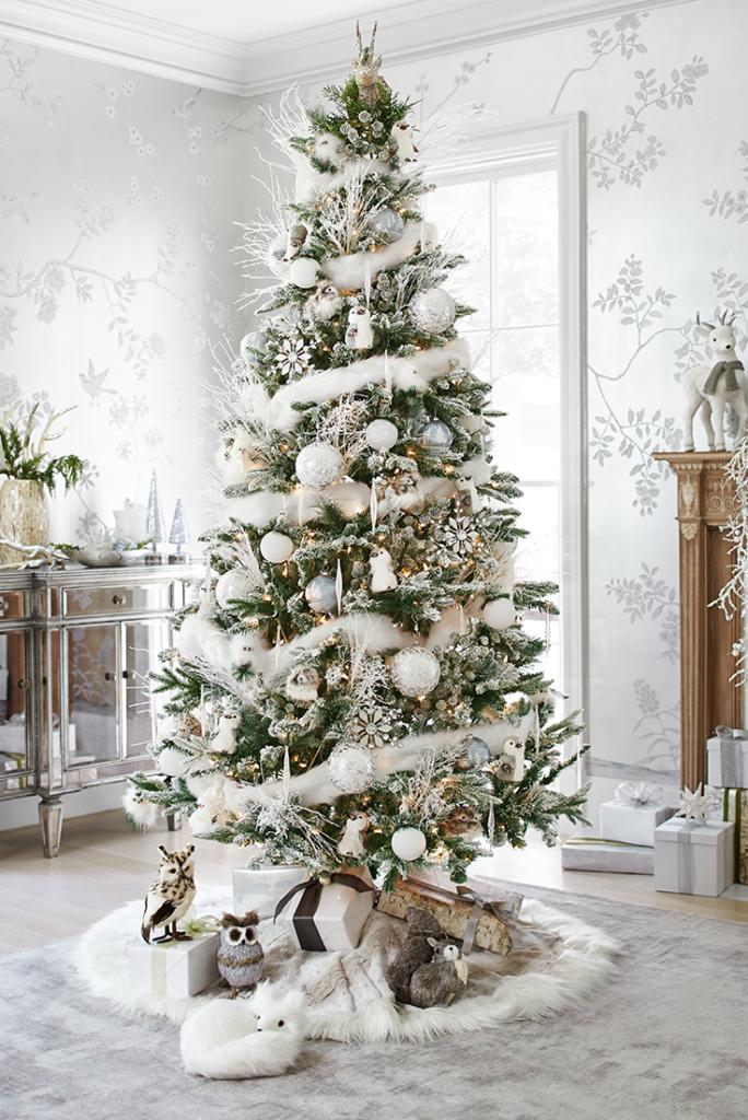 Idées de décoration de sapin de Noëlles merveilles de l'hiver