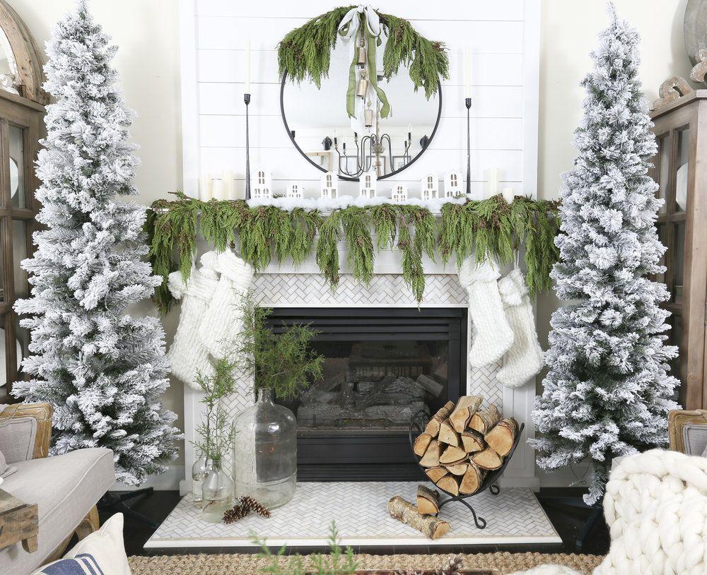 décorer sa cheminée à noël : 10 astuces et idées déco !