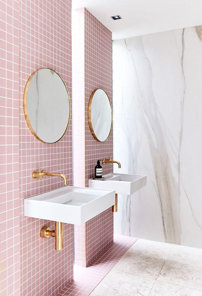 tendances d co 2019 pour les salles de bain et les salles d 39 eau. Black Bedroom Furniture Sets. Home Design Ideas