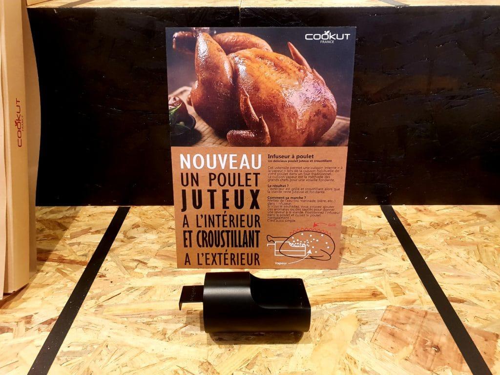 Maison et Objet Janvier 2019- Cookut infuseur à poulet