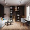 Visite d'un appartement au style glamour moderne sophistiqué 16 100x100 - Visite d'un appartement au style glamour moderne sophistiqué
