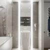 Visite d'un appartement au style glamour moderne sophistiqué 26 100x100 - Visite d'un appartement au style glamour moderne sophistiqué