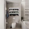 Visite d'un appartement au style glamour moderne sophistiqué 27 100x100 - Visite d'un appartement au style glamour moderne sophistiqué