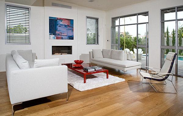 Décorer sa maison avec des meubles laqués rouge