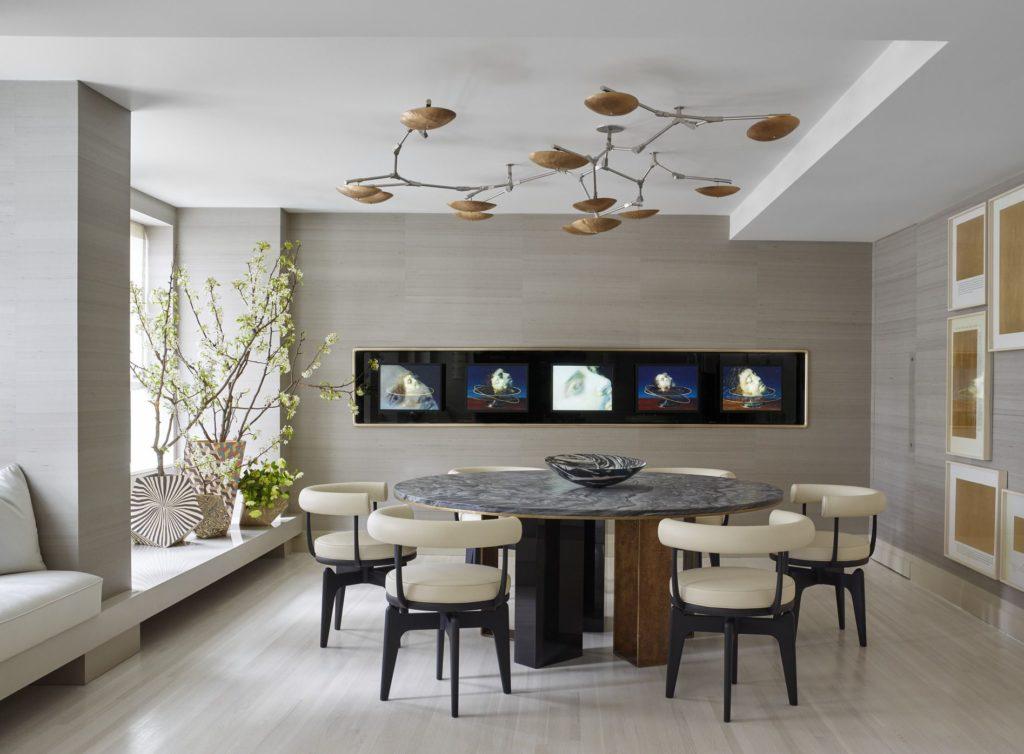 Des salles à manger minimalistes à la décoration revigorante 4