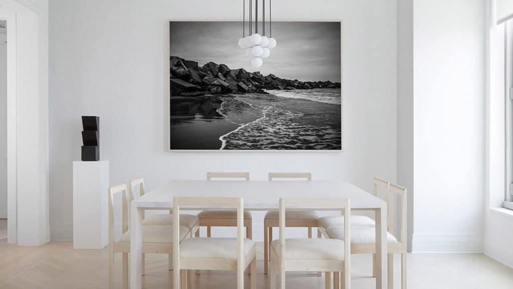 Des salles à manger minimalistes à la décoration revigorante 9