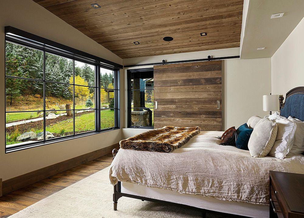 Pensez à utiliser le charme et la chaleur du bois déco rustique 2