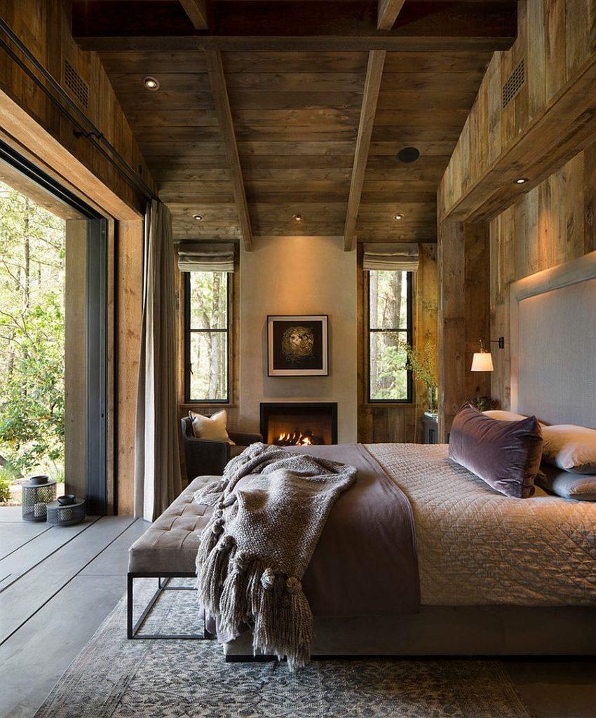 Pensez à utiliser le charme et la chaleur du bois déco rustique 9