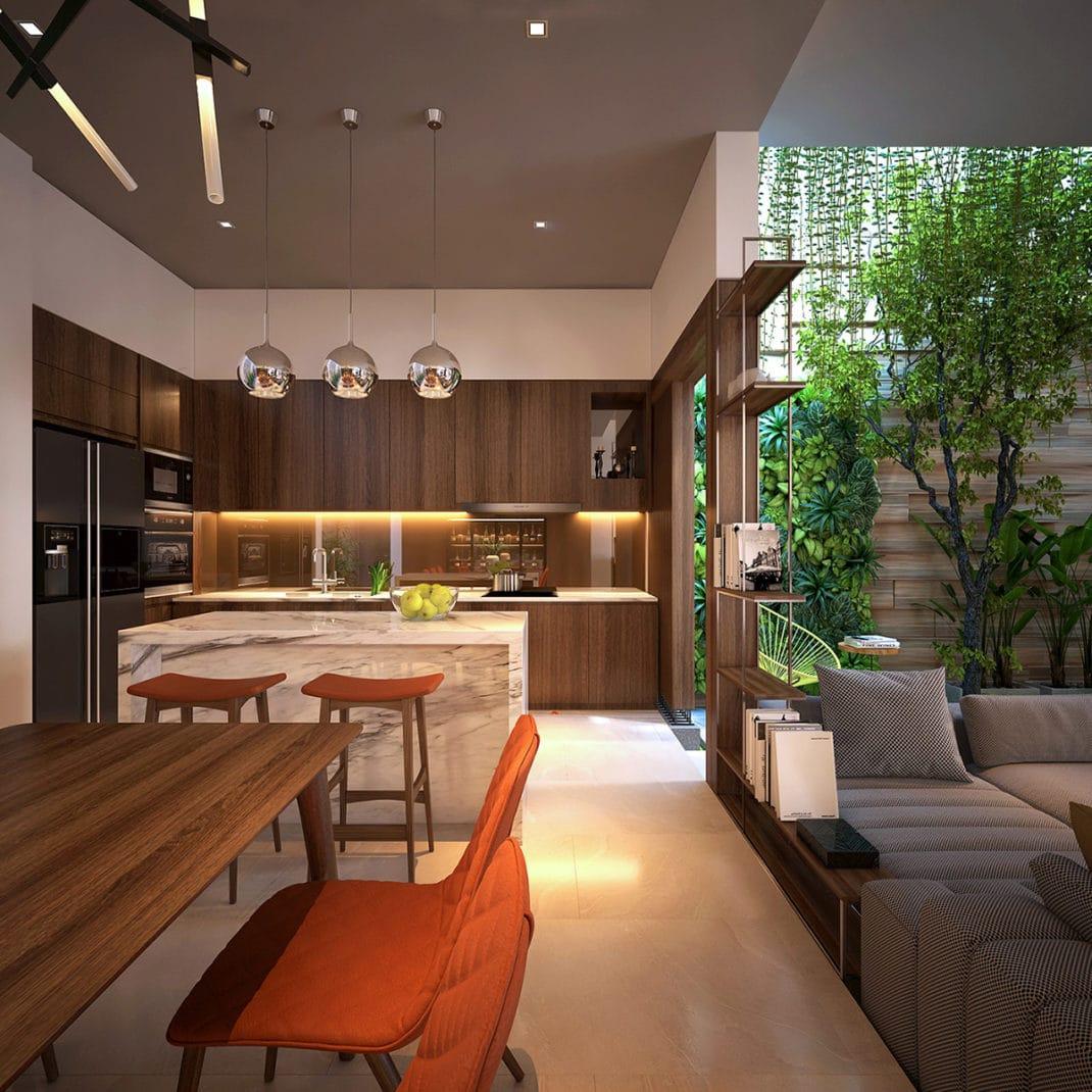 Un jardin d'intérieur dans sa maison 8