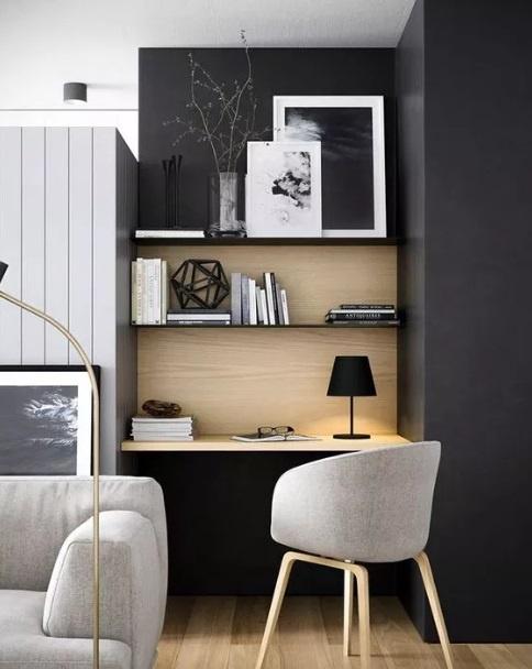 Aménager son bureau à la maison dans un petit coin