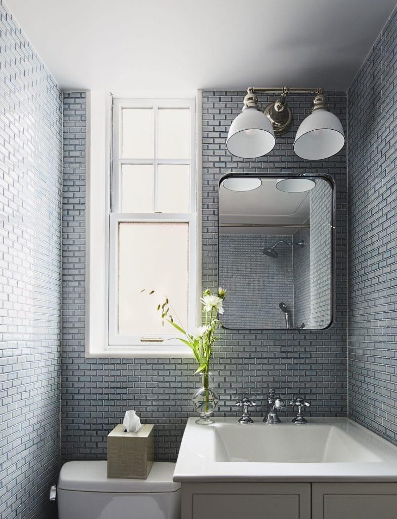 Carrelage pour la salle de bain le carrelage gris