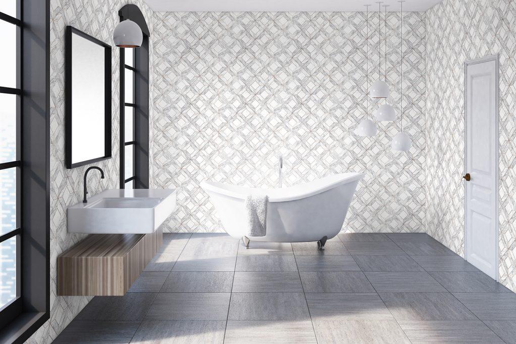 Carrelage pour la salle de bain mixer carrelage et papier peint