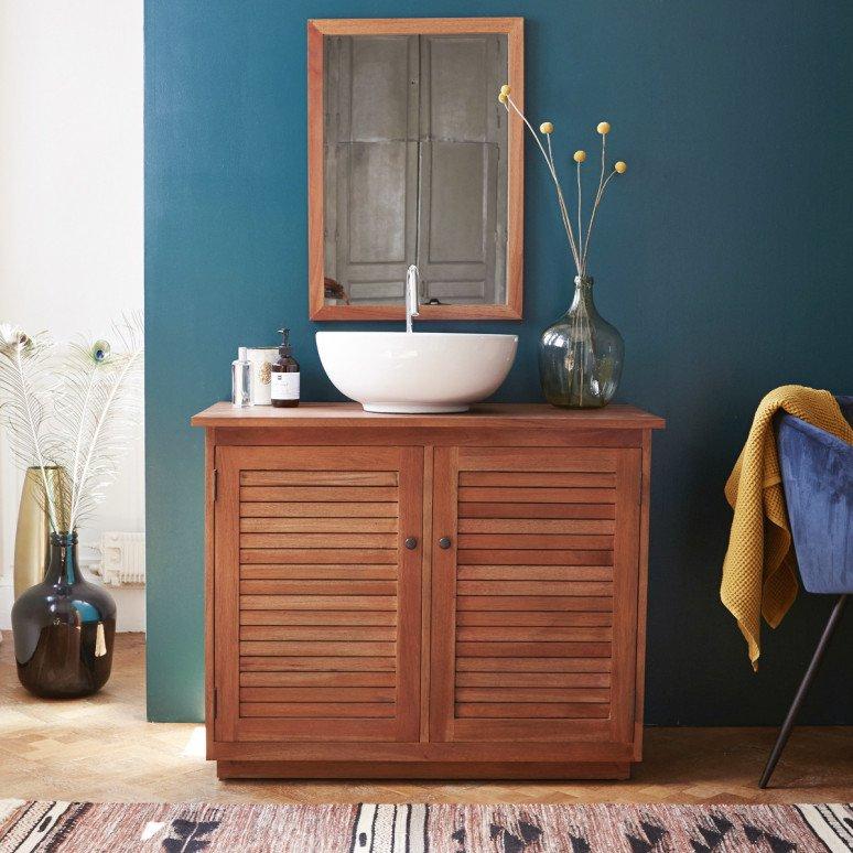 Tendance bois 10 salles de bains utilisant du bois naturel