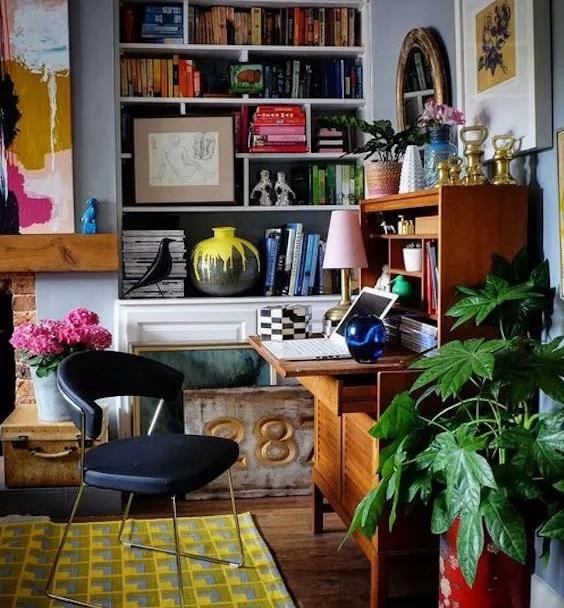 Un peu de couleur partout dans votre bureau