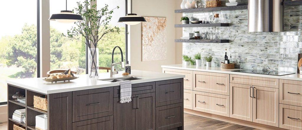 Les meubles en bois cuisine