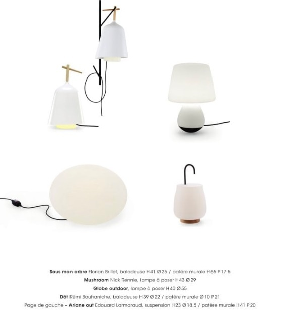 lampes cinna