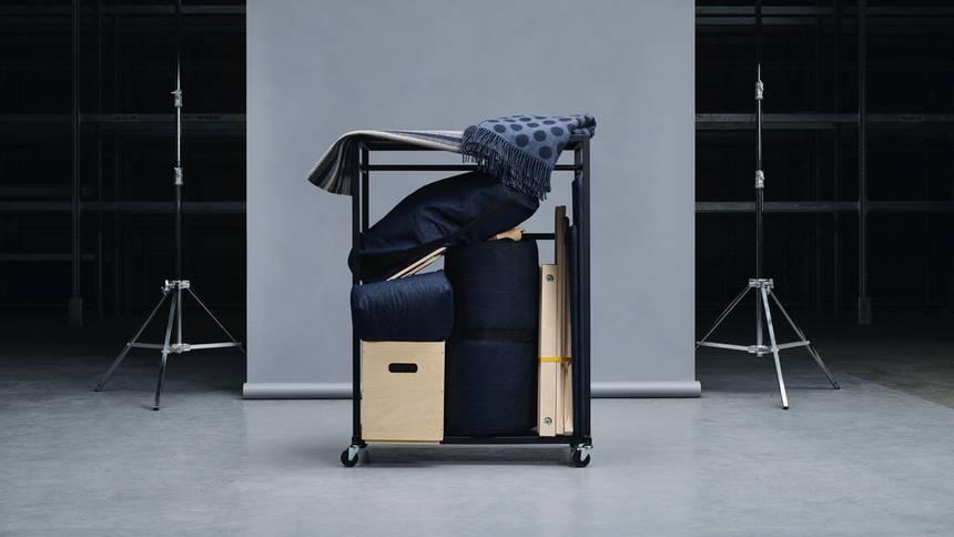 Des meubles pliables IKEA RÅVAROR adaptés au style de vie mobile moderne 1