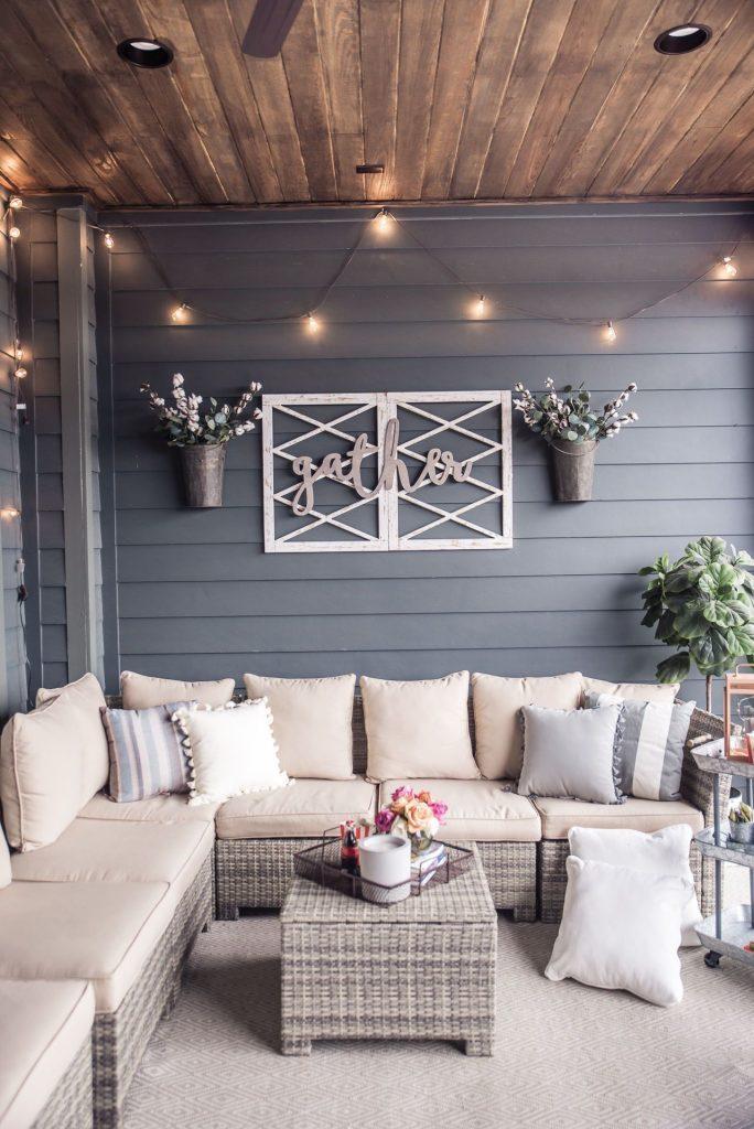 Décorer sa terrasse de façon luxueuse
