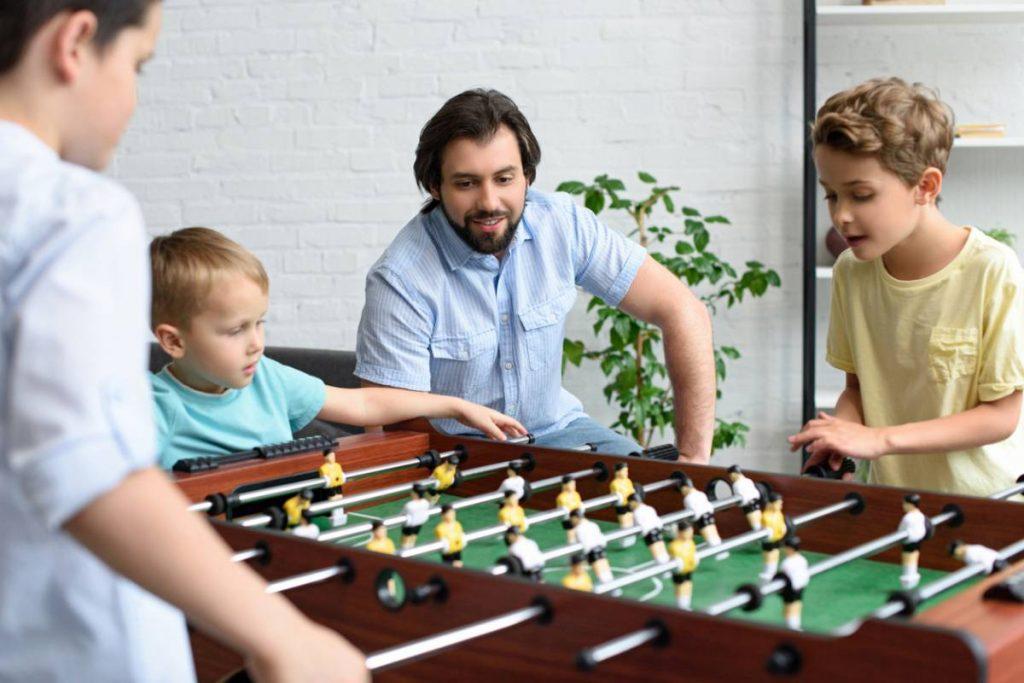 Aménager une salle de jeuchez soi babyfoot ou pas