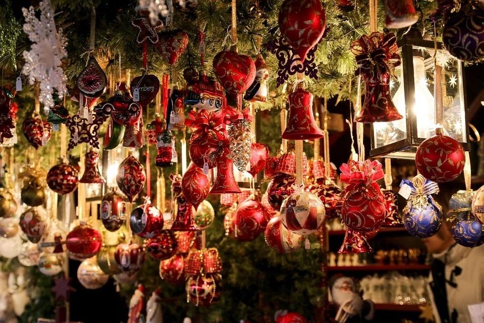 L'histoire des décorations de Noël