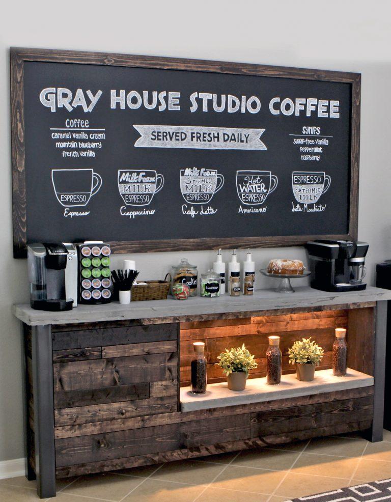 idées de bar à café