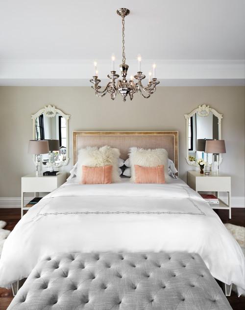 Encadrez votre lit avec des miroirs