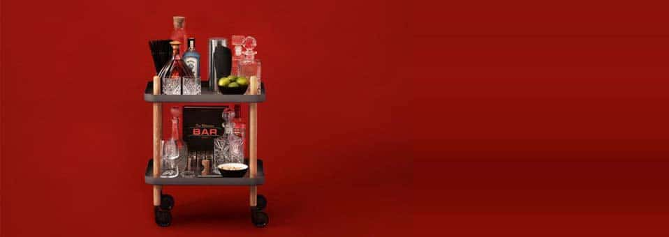 Block table desserte design Simon Legald