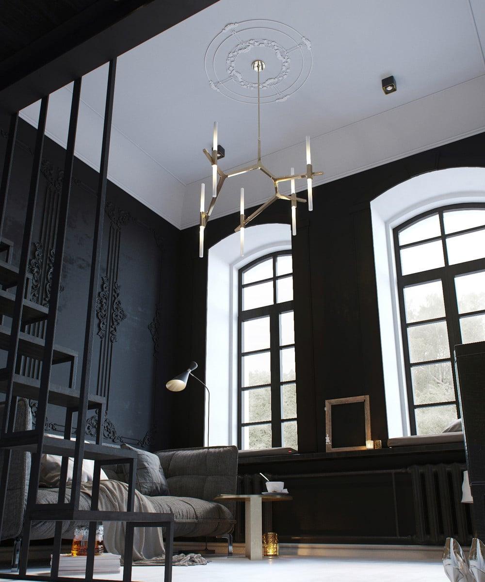Amenagement Interieur Petite Surface aménager un appartement de 30 m² - un clair et un sombre
