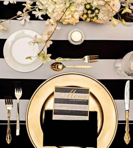 Art de la table étapes dresser une table formelle