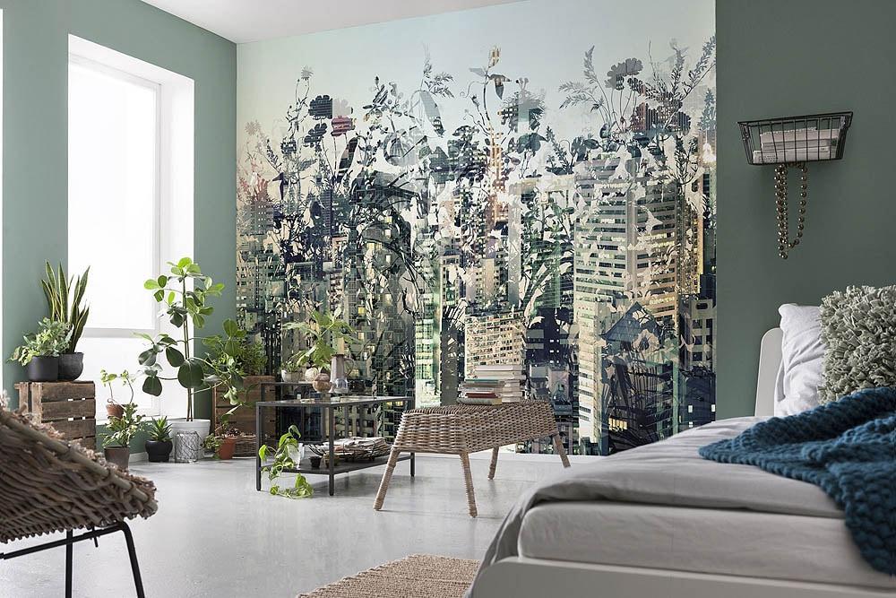 Les Dernieres Tendances De Papier Peint Et Decoration Murale