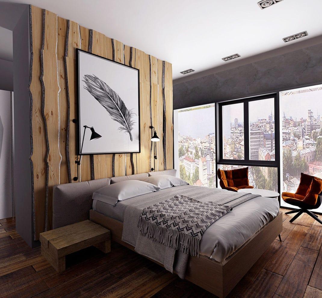 Bois Pour Mur Chambre murs en bois décoratifs : 30 idées déco à reproduire chez vous !