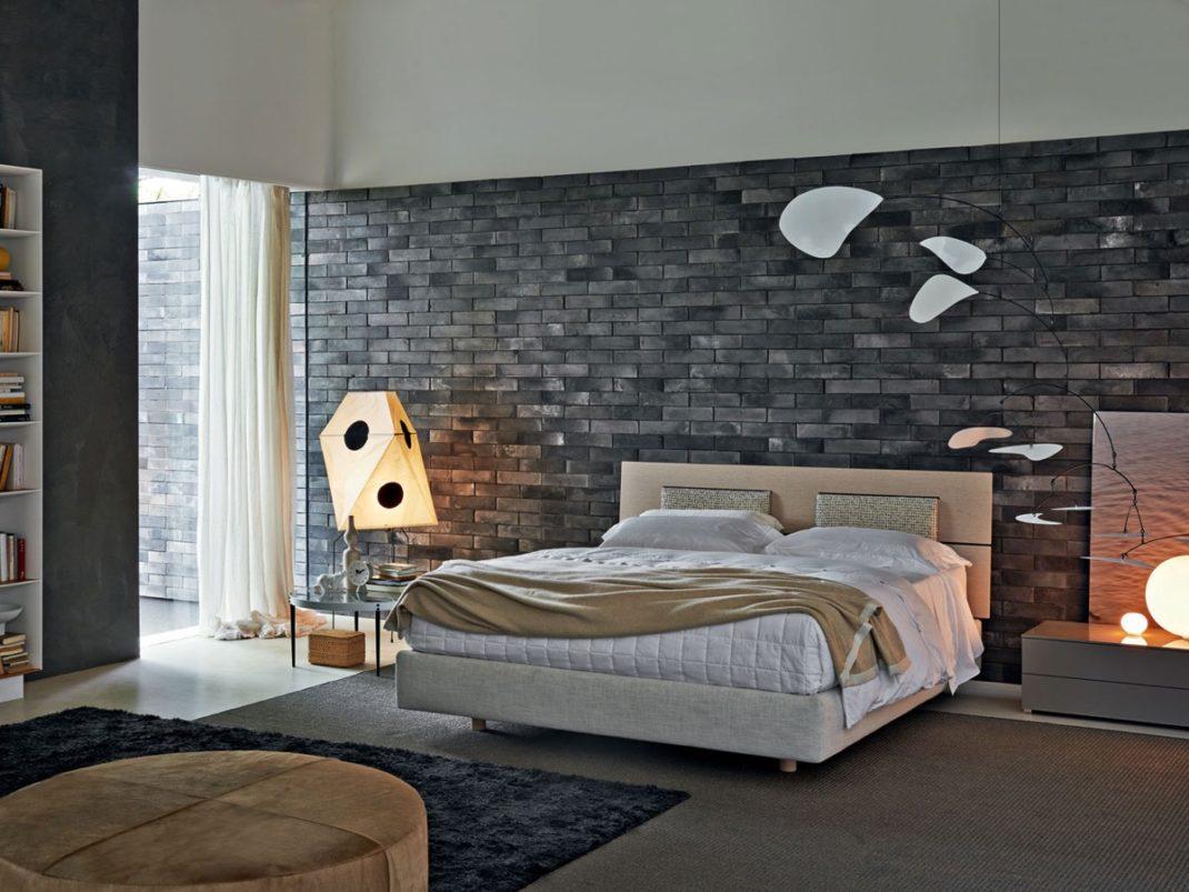 Etagere Sur Mur En Brique décorer les murs d'une chambre avec des briques   blog deco