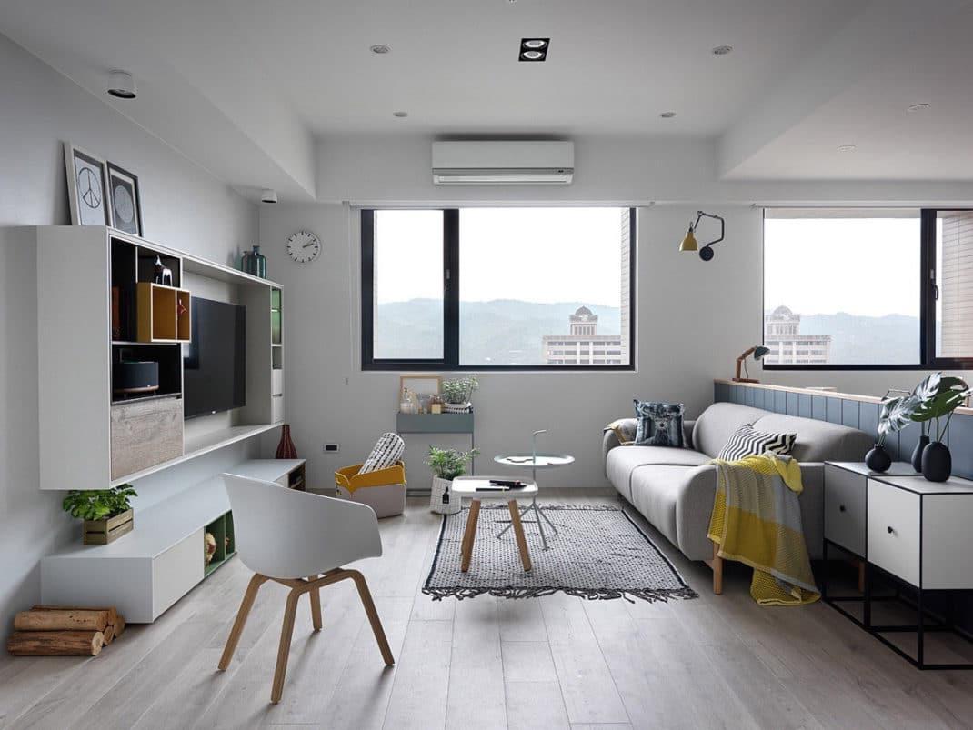 Idée Déco Appartement Jeune appartement de style scandinave : confort et chic nordique !