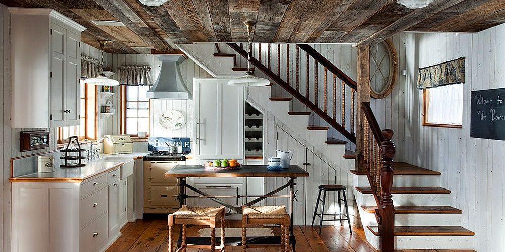 Un Plafond En Bois Dans La Cuisine Chaleur Et Elegance Garantie